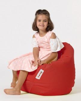 Earmut Premium Çocuk Armut Koltuk Kırmızı