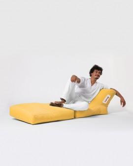 Siesta Açılır Koltuk Yatak Sarı